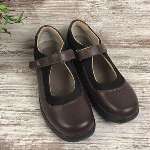 Drew Rose Therapeutic Brown Mary Janes Shoes